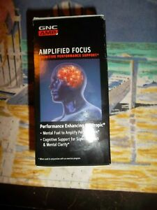 GNC Amplified Focus Advanced Muscle Performance - 60 Tablets - Best By: 05/21