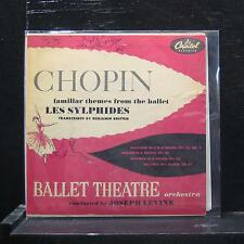 "Chopin - Familiar Themes From The Ballet Les Sylphides 7"" Vinyl EP VG+ FAP-8200"
