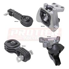 Engine Motor & Trans Mount Set 2006-2010 Honda Civic 1.8L for Auto Trans.