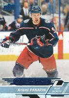 2018-19 Upper Deck Overtime Hockey Blue #125 Artemi Panarin