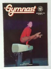 The Gymnast Magazine Nov 94  Women's & Men's Champs, Khorkina, Milosovici