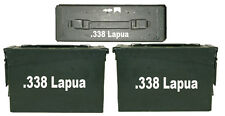 "338 Lapua Ammo Box(decals) Two 8""x1.5 One 3""x0.75"" No Box Included"