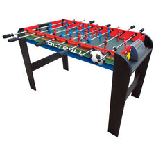 Charles Bentley 4FT Football Table Game Soccer Fusball Gaming Table