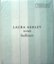 LAURA ASHLEY - SOPHIE Stripe - Duck Egg - DOUBLE duvet cover - RRP £70 - NEW