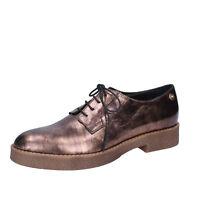 LIU JO scarpe donna classiche bronzo in pelle