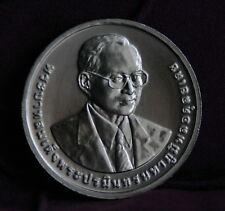 King Bhumibol Adulyadej Rama IX 100 Baht 2015 Thailand World Coin Low Mintage e