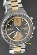 8039, Vintage 1977 Seiko 6138-8039  John Player Chronograph model, SS Beauty