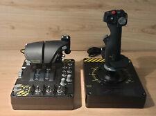 Saitek PRO FLIGHT X-55 Rhino HOTAS (Joystick und Schubkontrolle)