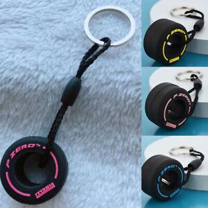 Soft Rubber New Tire Key Chain Car Decoration Pendant Elegant Hot Gift