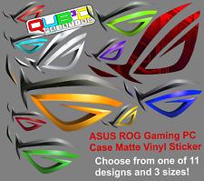 ASUS ROG PC Case 2D Vinyl Sticker ~ Laptop,Phone,Gaming,Geforce GTX RTX i5 i7 i9
