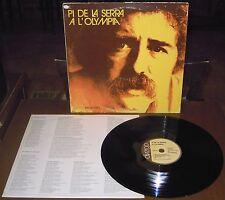 LP PI DE LA SERRA A l'Olympia (Divergo 79 ITALY) political folk inner unique NM!