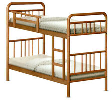 Double Deck Cherry Wooden Bed