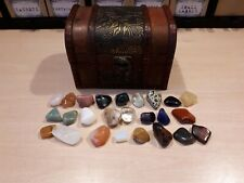 25 Crystal Chest Kit - Apothecary Wicca Pagan Witchcraft Charm Voodoo Witch