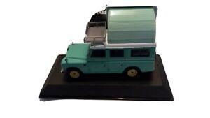 Camping Car Collection Altaya 1/43  Land Rover Série 3 Dormobile