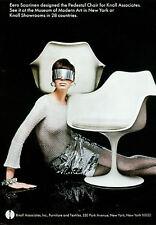 Stampa incorniciata-Knoll Tulip Saarinen sedia poster anni 1960 (PICTURE Eames Bertoia)