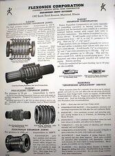 1958 FLEXONICS Flexon Rex-Tube ASBESTOS packing Ad