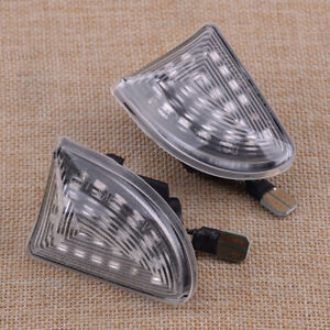 2x Dynamic Sequential LED Side Marker Light Lamp fit for Smart Fortwo W451 07-14