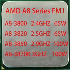 AMD APU A8 Series A8-3800 A8-3820 A8-3850 A8-3870K Quad-Core Socket FM1 CPU