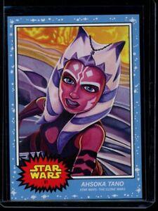 2020 Topps Star Wars Living Set #81 Ahsoka Tano SP Card Short Print Clone Wars