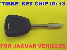 NEW UNCUT Tibbe Blade Transponder Chip Key Megamos 13 HNA7230AA For Jaguar 97-99