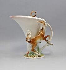 Porzellan Kaffeekanne Teekanne Pferd Dekor Jameson&Tailor 9952025