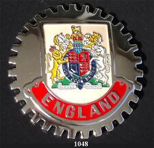 CAR GRILLE EMBLEM BADGES - ENGLAND (CREST)