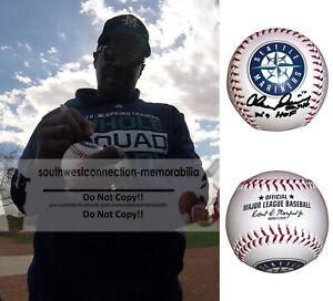 Alvin Davis Seattle Mariners Signed Autograph Baseball HOF Inscription Proof