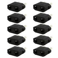 10PCS US/AU to EU Travel Converter AC Power Plug Power Charger Adapter Salable
