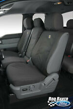 Charcoal Twill Front Row Protective Seat Covers fits 2019 Ford Ranger Pickup