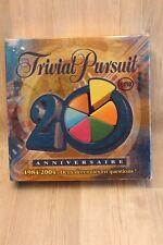 Jeu de société Trivial Pursuit Poursuite 20ème anniversaire - complet
