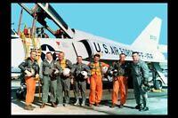 The Original Mercury 7 Astronauts PHOTO John Glenn Alan Shepard Wally Schirra