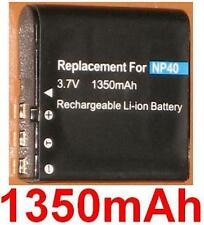 Batterie 1350mAh type PAC-0040 NP-40 NP40 Pour DXG-125V