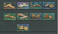 1974 Sea Shells Part set of 9 Mint Unhinged/Never Hinged