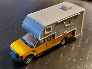 Camper Pickup Truck RV 1-87 HO Scale River Point Station Walthers Herpa RPS