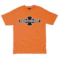 Independent Truck Company O.G.B.C. Skateboard Tee T-shirt Orange M L XL 2XL