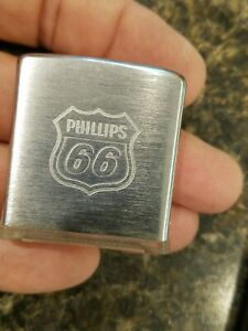 Phillips 66 Advertising Zippo Lighter Company made Magnifying Glass