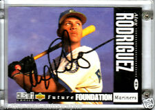 MARINERS YANKEES ALEX RODRIGUEZ SIGNED AUTOGRAPHED 1994 UPPER DECK CC CARD PROOF