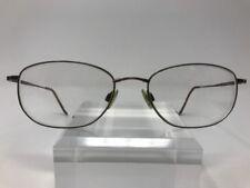 Tech Flex Eyeglasses TF 700 54-18-145 Coffee Bronze Oval S764