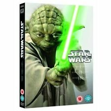 Star Wars The Prequel Trilogy 1 2 & 3 (Episodes I-III) DVD 1999