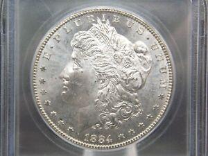 "1884 ""CC"" Morgan Silver Dollar $1 VAM-2 ""18/18"" ICG MS64 ECC&C, Inc."