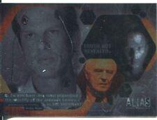 Alias Season 1 Double Agent Chase Card D5 Foil Finish Unreleased [Rare]