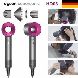 Dyson Supersonic Haartrockner HD03 - Anthrazit/Fuchsia - NEU Lieferung mit DHL
