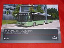 UN León autobús de la ciudad de BB´s - folleto movilidad eléctrica modular para 2016