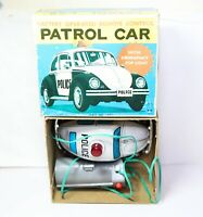 TORA Japan Battery Operated Remote Control Volkswagen Beetle Patrol Car With Box