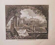 Rome Italy 100 Engravings by Tommaso Cuccioni 100 Vedute di Roma 1840s Leather