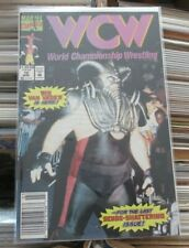 WCW #12 Marvel comics final issue low print run Newsstand