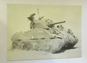American M4 Sherman I Tank. Imperial War Museum NA5522. Old Postcard
