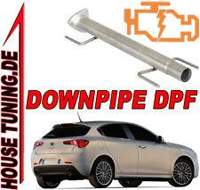 Tubo Rimozione FAP DPF Downpipe Alfa Giulietta 1.6 Mjet 105 120 cv Euro5 T6F