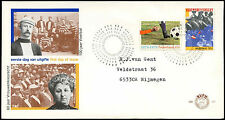 Netherlands 1979 Football, Womens Suffrage Anniv FDC First Day Cover #C27677