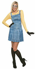 Female Minion Adult Costume Medium Size 6-10